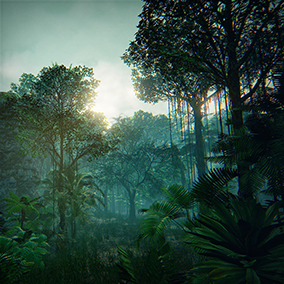 Tropical Forest Pack by Manufactura K4