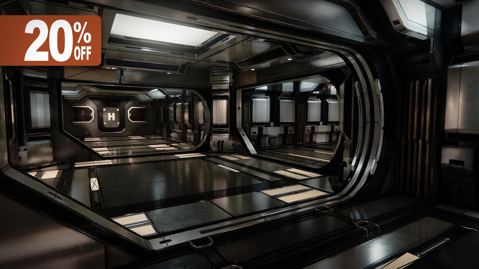 Modular SciFi Hallways