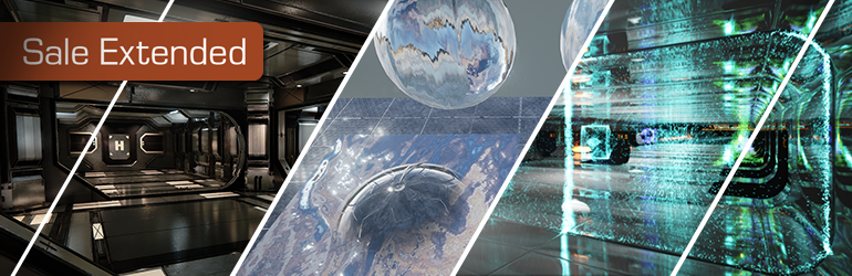 Marketplace Sale: Sci-fi, materials, & particles ahoy!