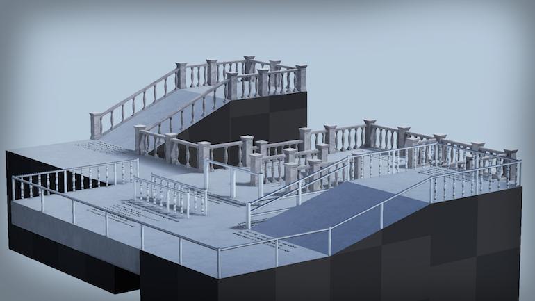 Impromptu Procedural Handrails by Impromptu Games