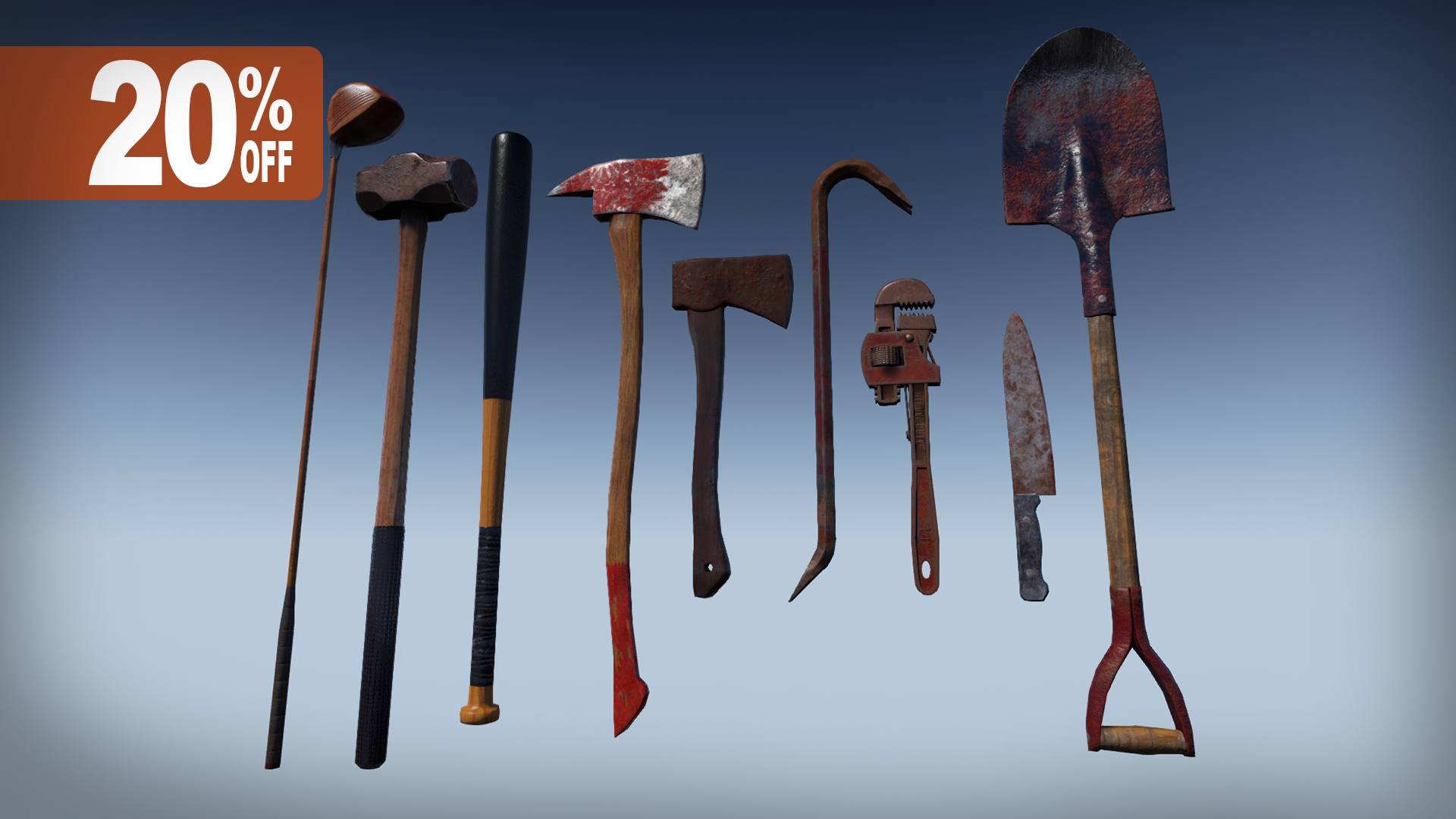 Zombie Melee Weapons