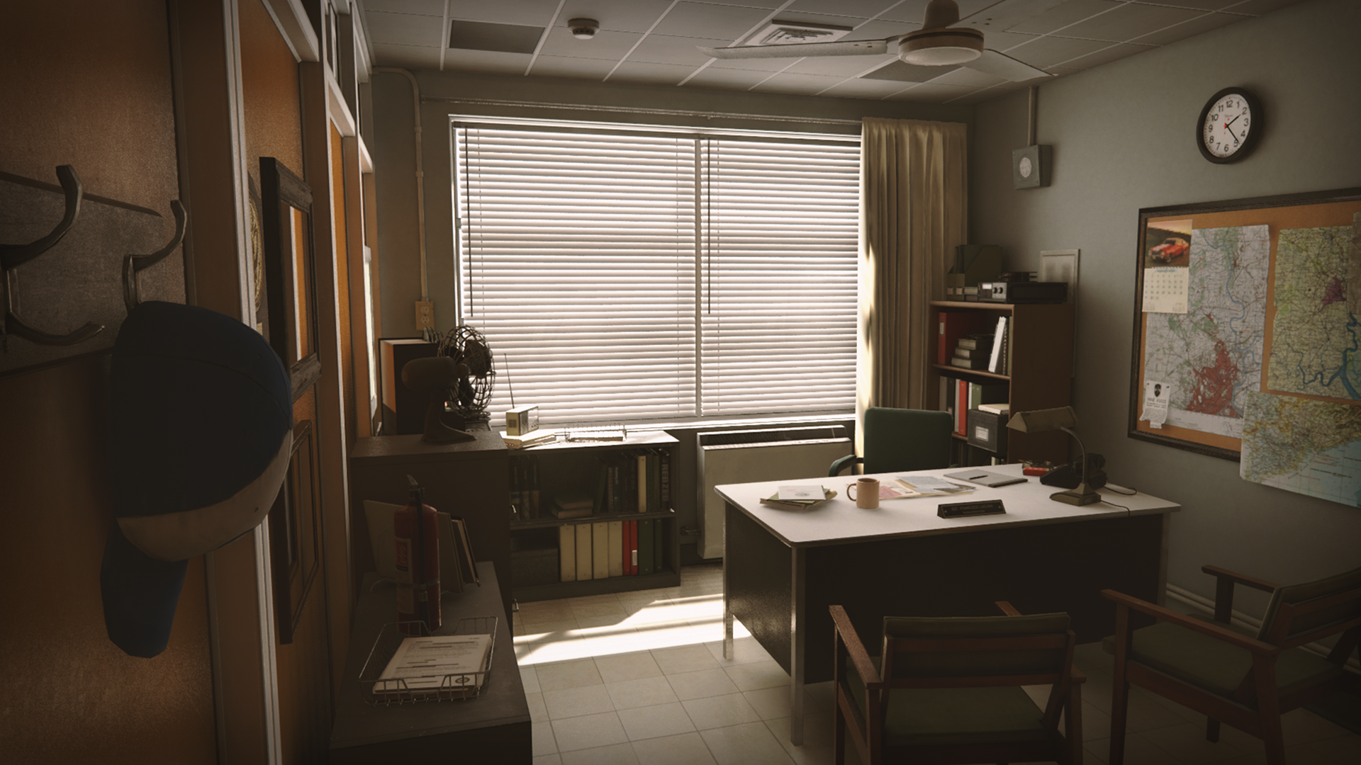 Retro Office Environment by Clinton Crumpler