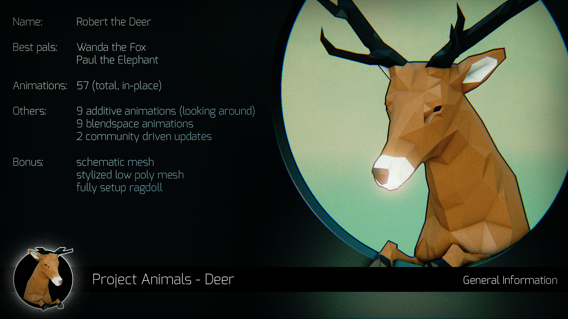 The Furryous Animal による Animals – Deer