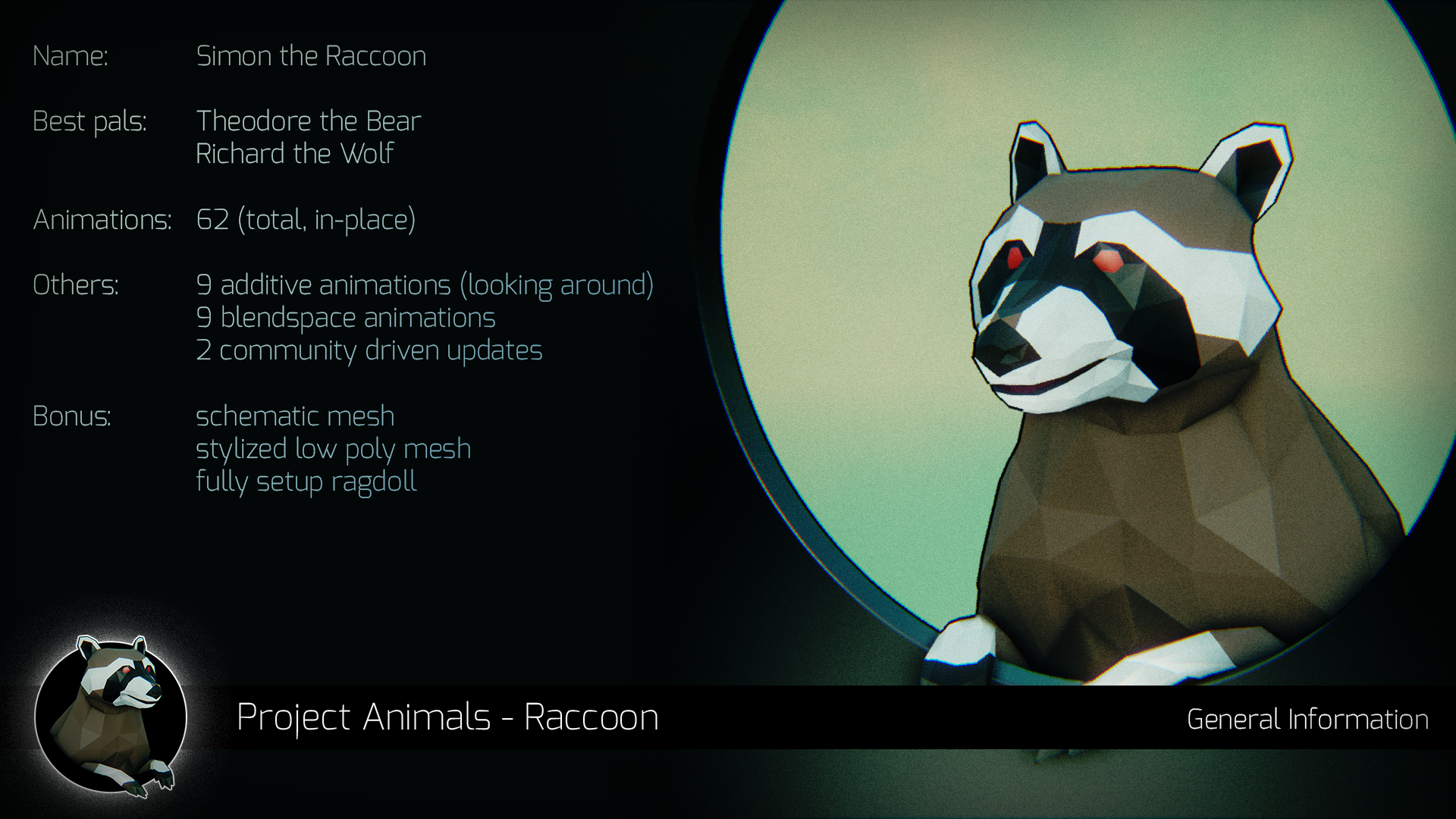 Animals – Raccoon by The Furryous Animal
