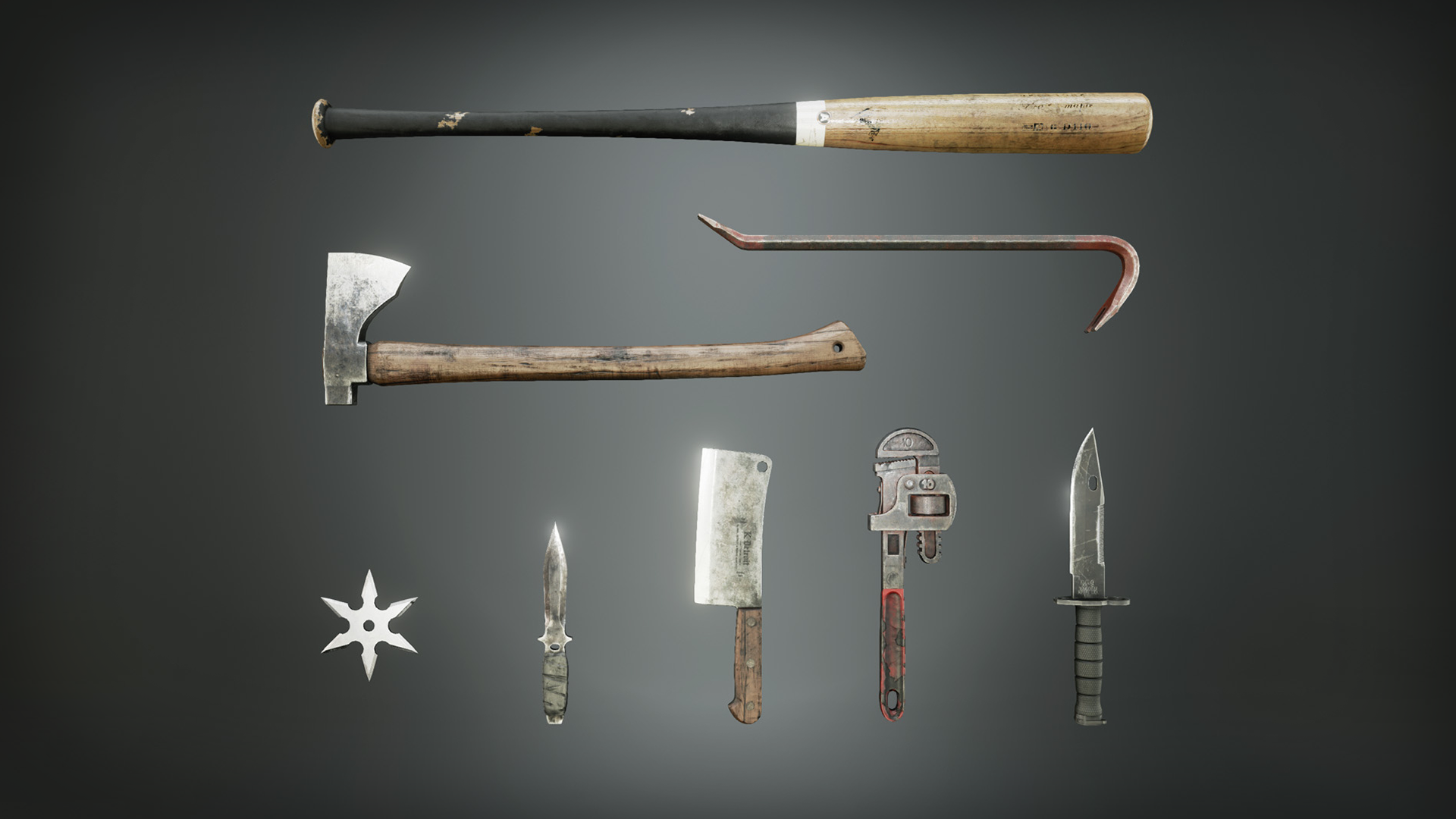 Melee Weapon Pack by Karl Detroit