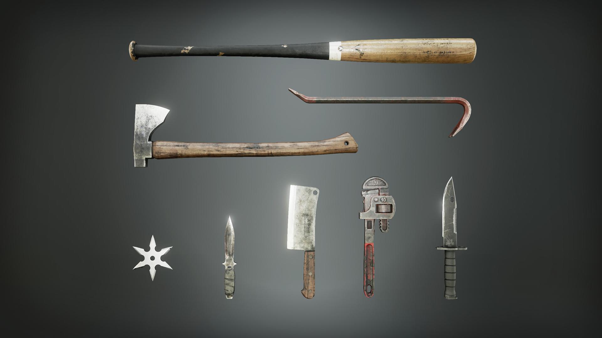 Melee Weapon Pack (Karl Detroit)