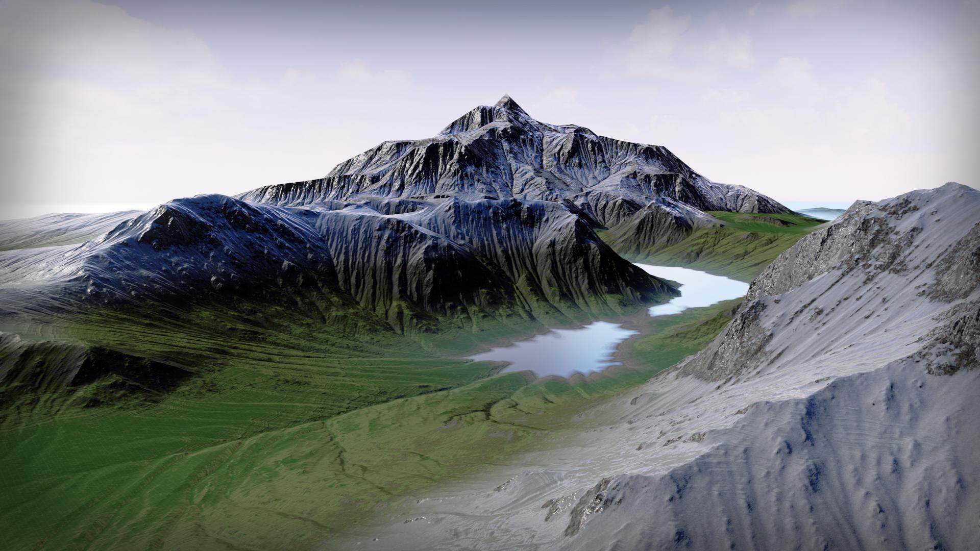 Auto Landscape MatAlpine (MaxStudiosDe)