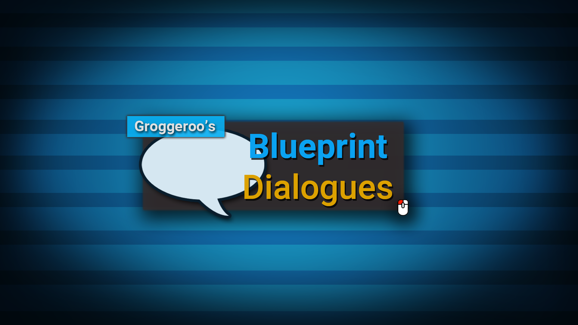 Blueprint Dialogue System (Alain Bellemare)