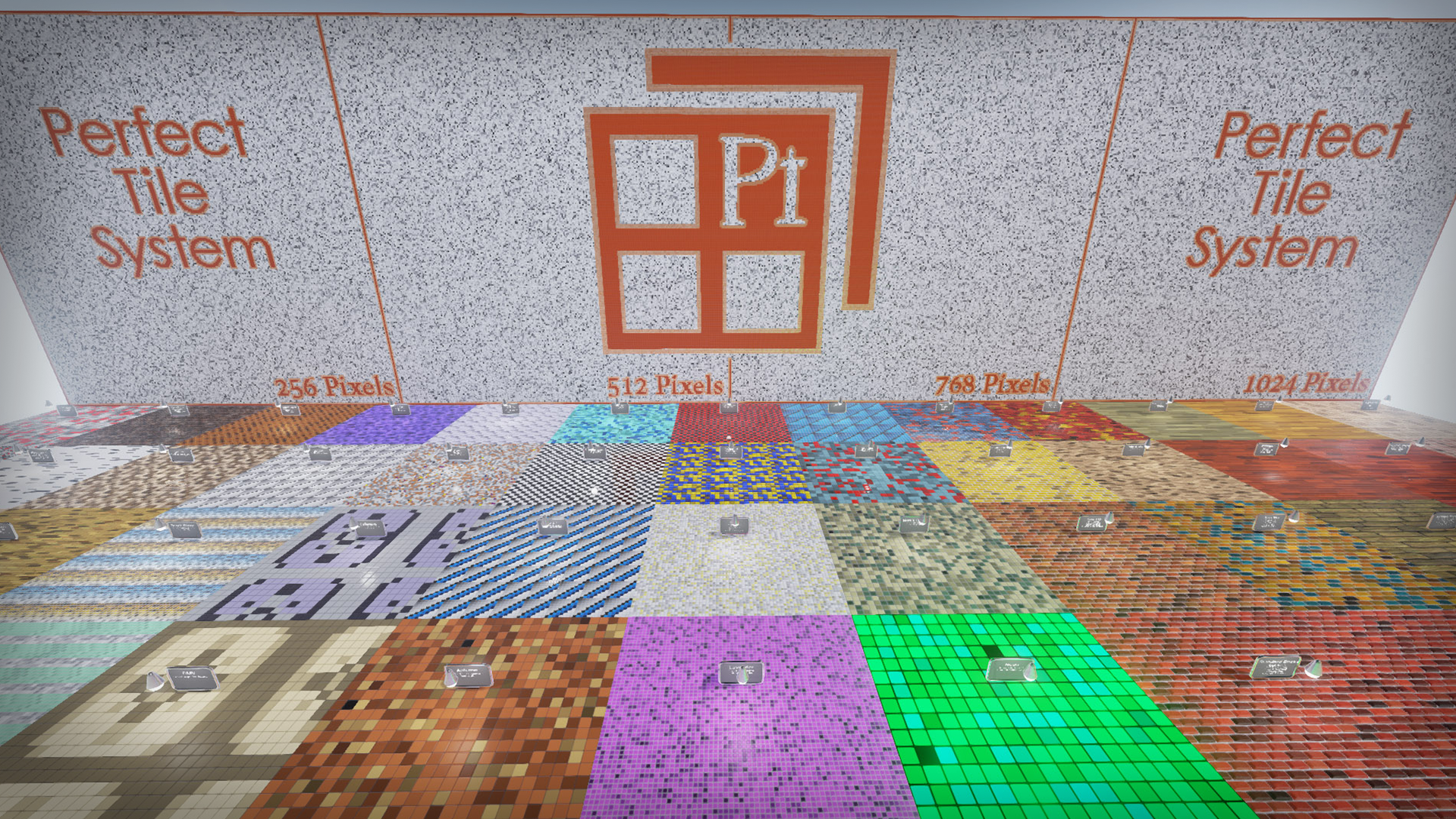 由Michael Fahel制作的完美平铺块系统