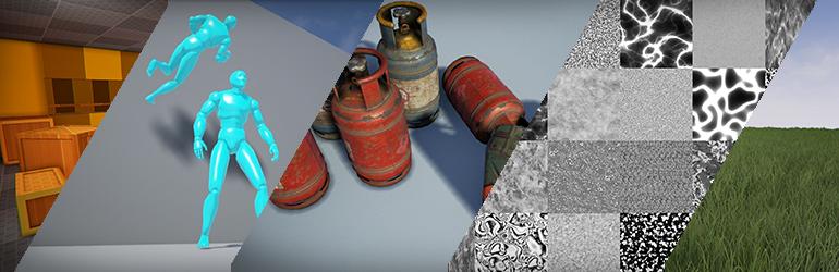 마켓플레이스 세일: 레벨 임시 디자인 도구, 모바일 네비게이션, 벽 타고 달리기 애니메이션 등