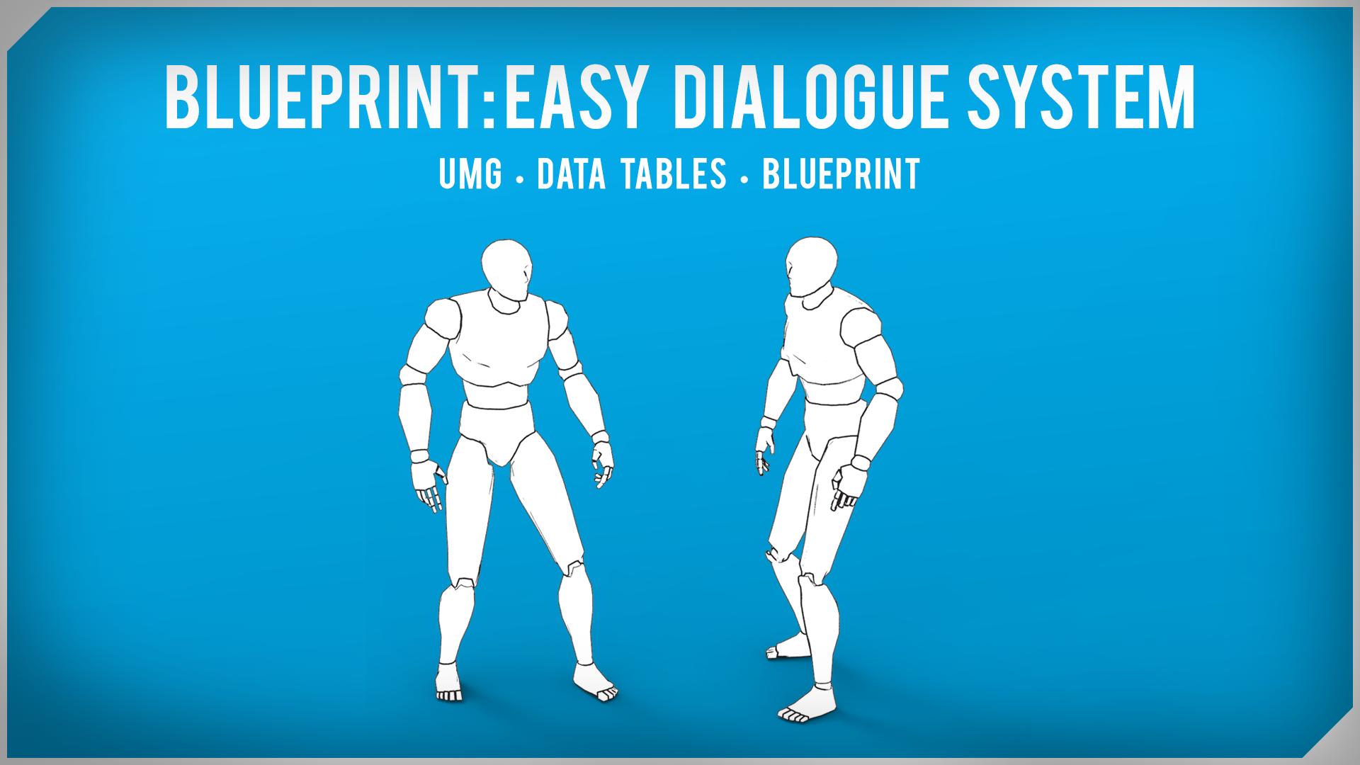B.E.D.S. Blueprint: Easy Dialogue System by Jarlan Perez