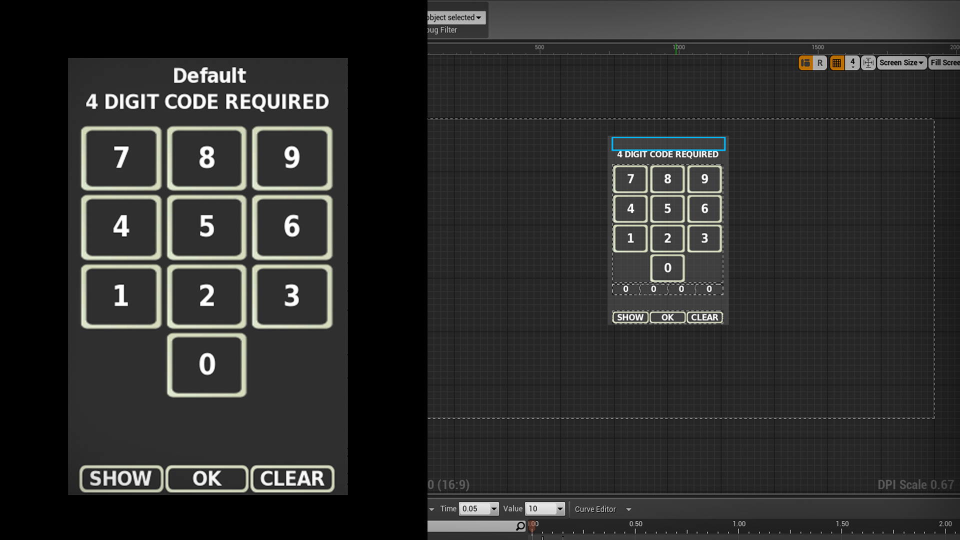 Look Dev Limited による BP KEYPAD UI