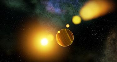 Dynamic Universe Sky Sphere