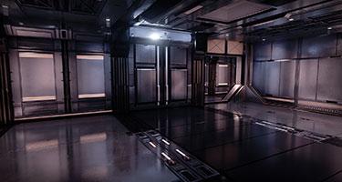 Modular SciFi Interiors