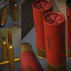 Ammo Set by Alexander Ponomarev