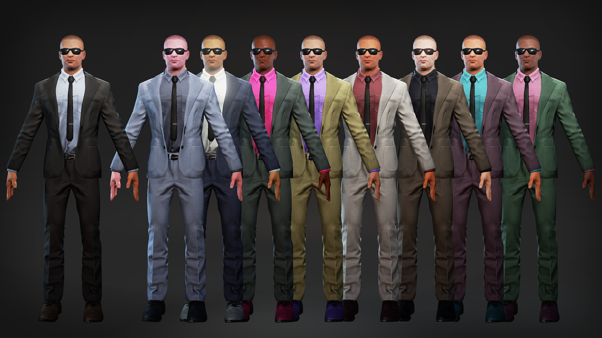 Agents Characters Pack