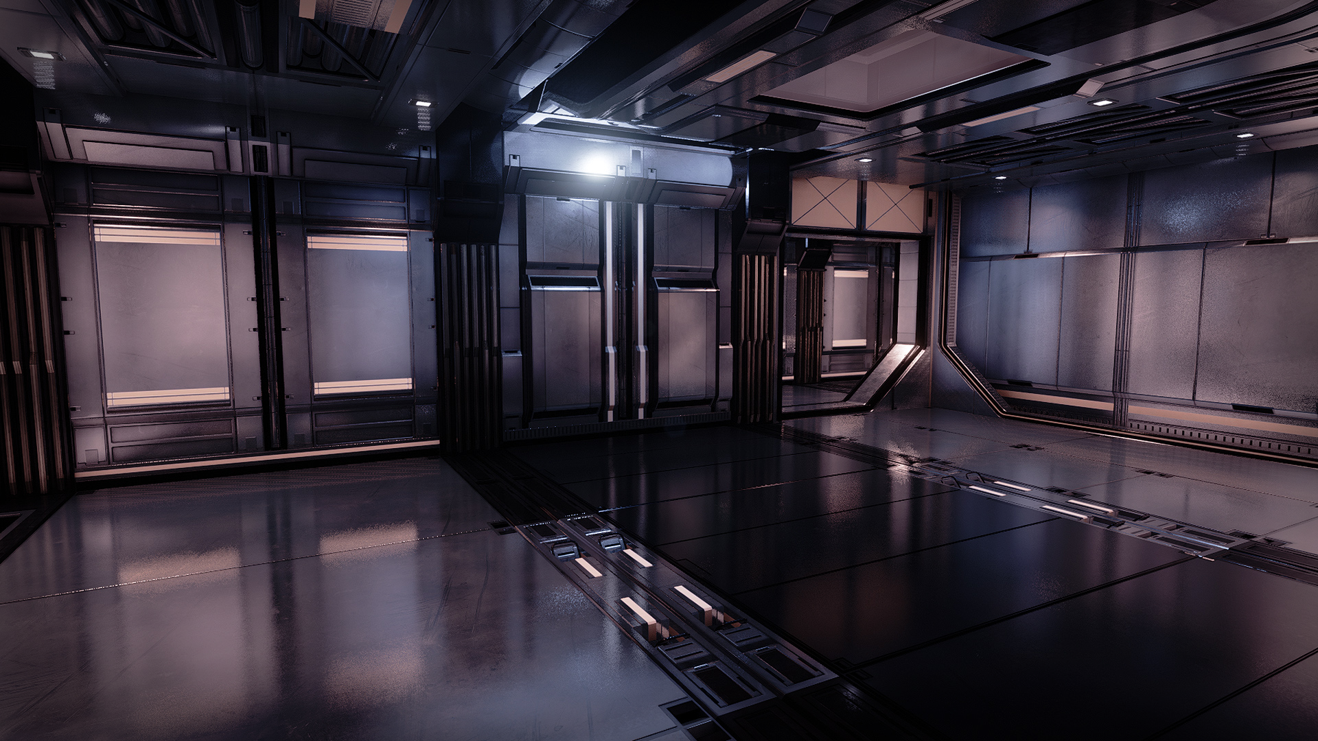Modular SciFi: Interiors