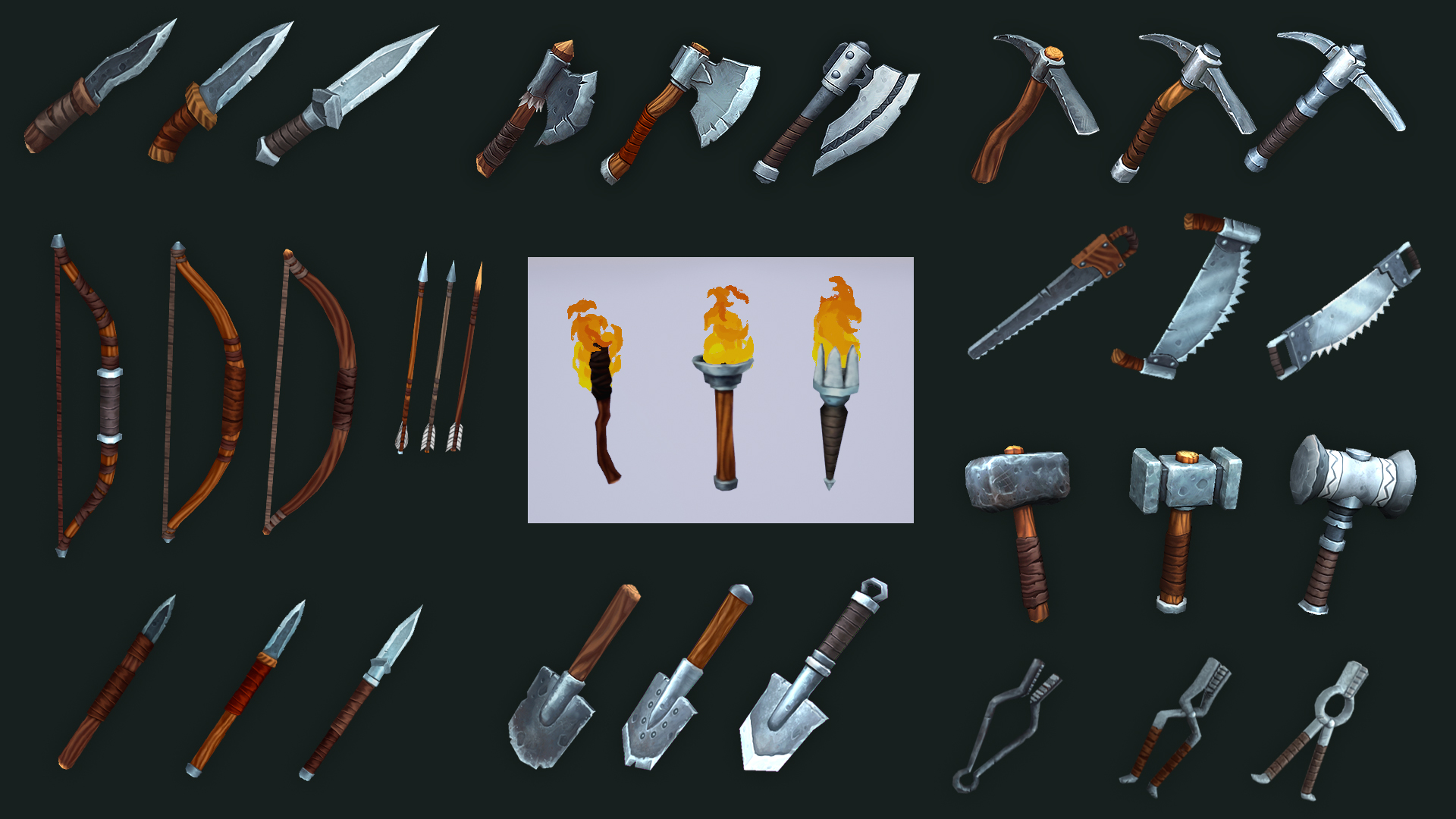Medieval Tools by George