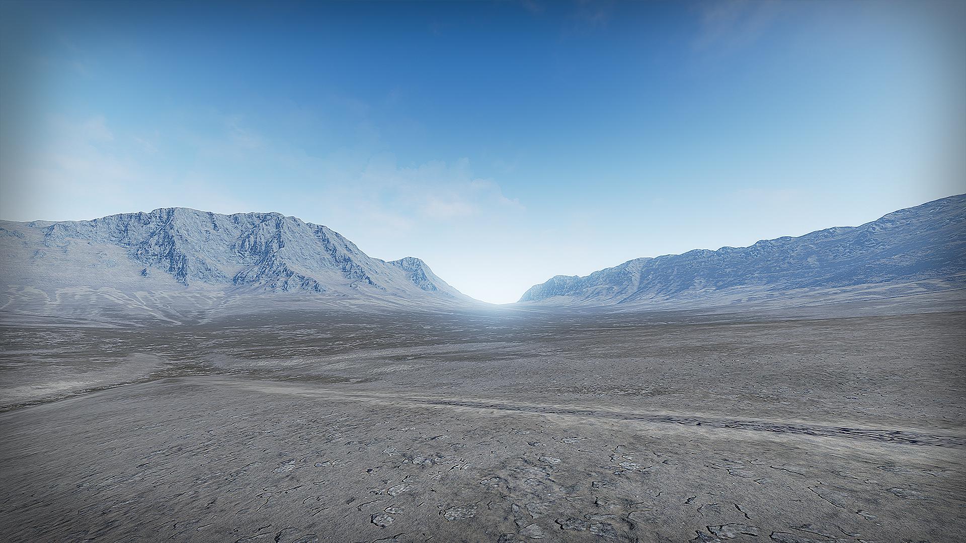 Automatic Landscape Desert by MaxStudiosDe