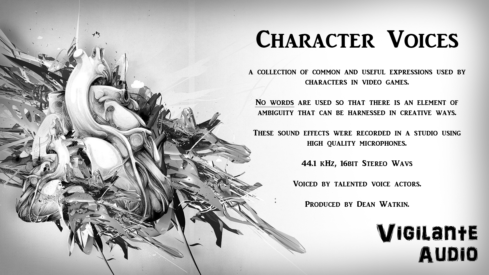 Character Voices by Vigilante Audio
