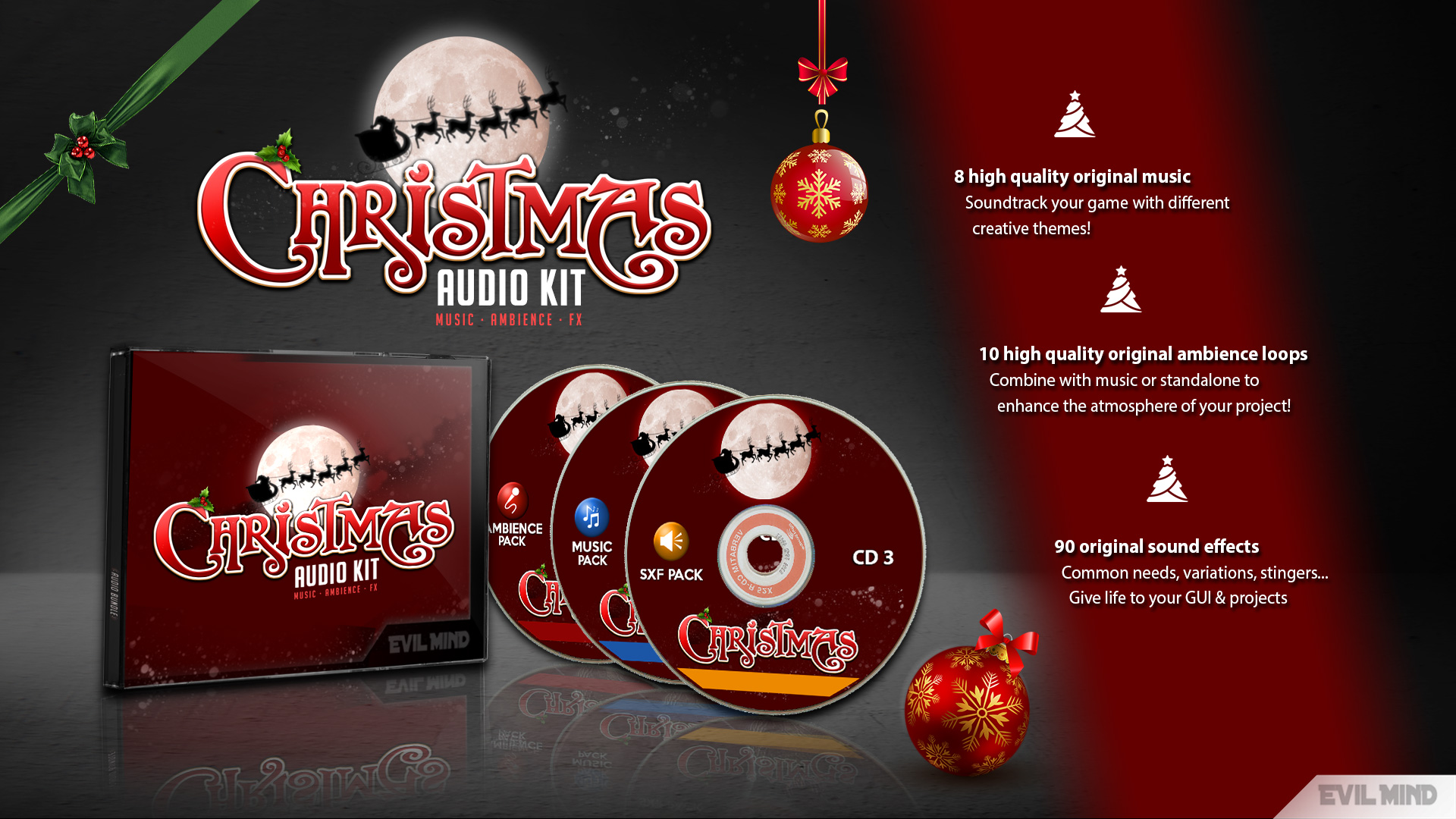 Christmas Audio Kit by Evil Mind Entertainment