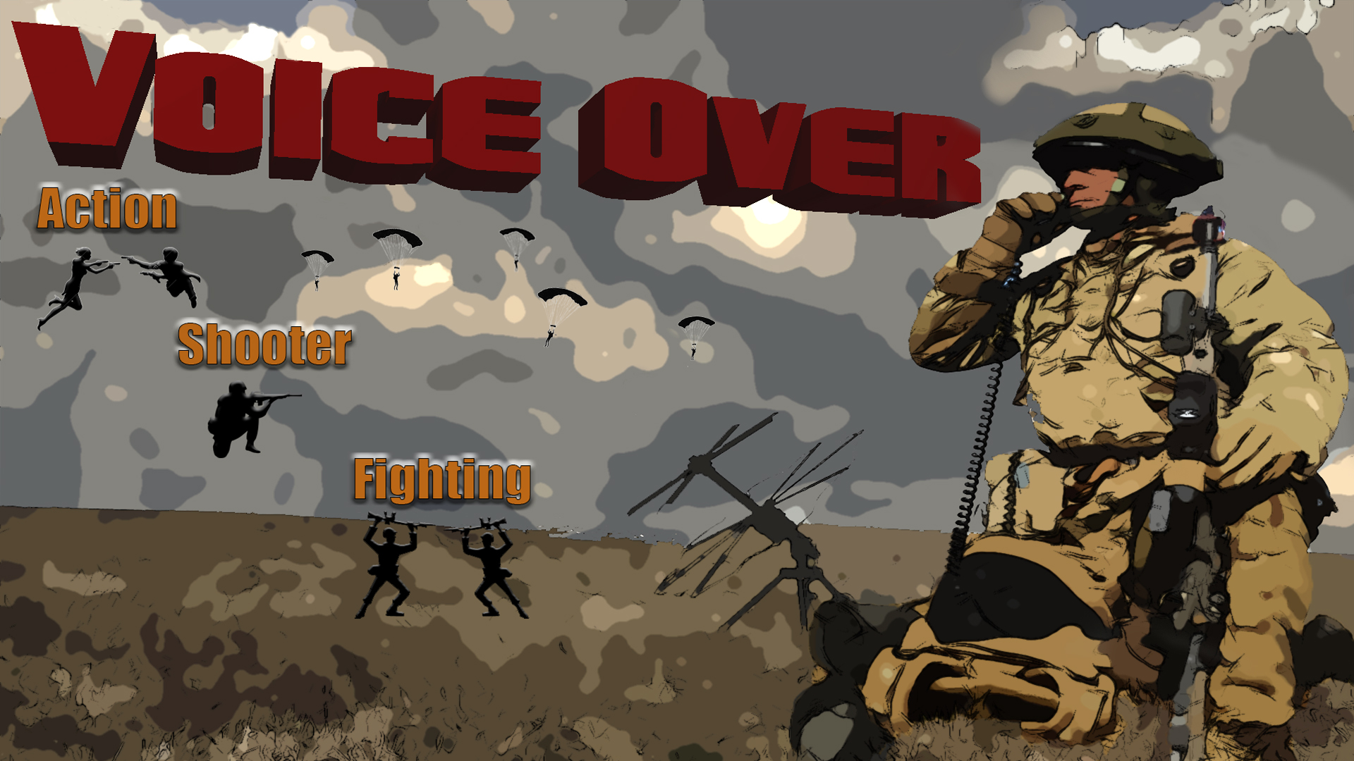 Dx-Shooter Fighter Action VO by YellaUmbrella Music