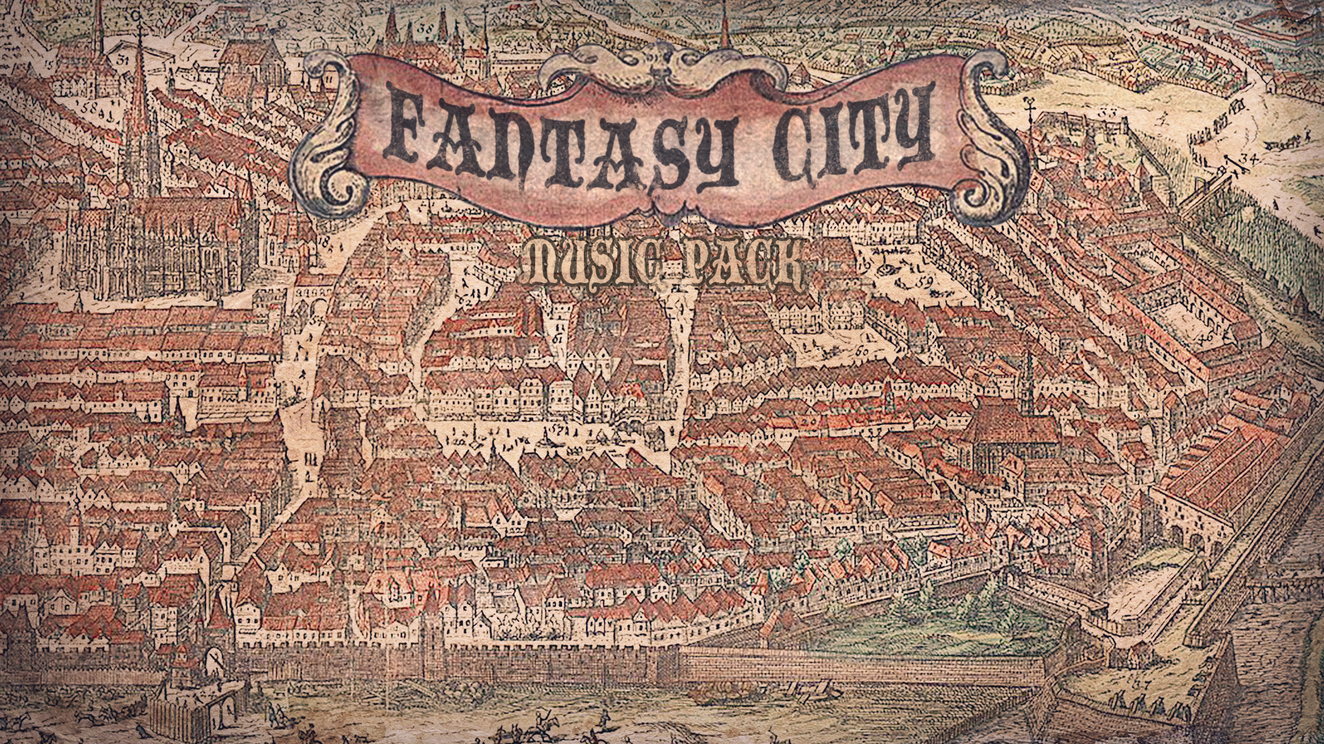 Fantasy City Music Pack by Kat Bella