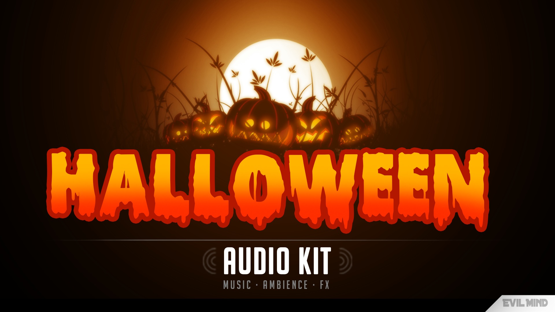 Halloween Audio Kit by Evil Mind Entertainment