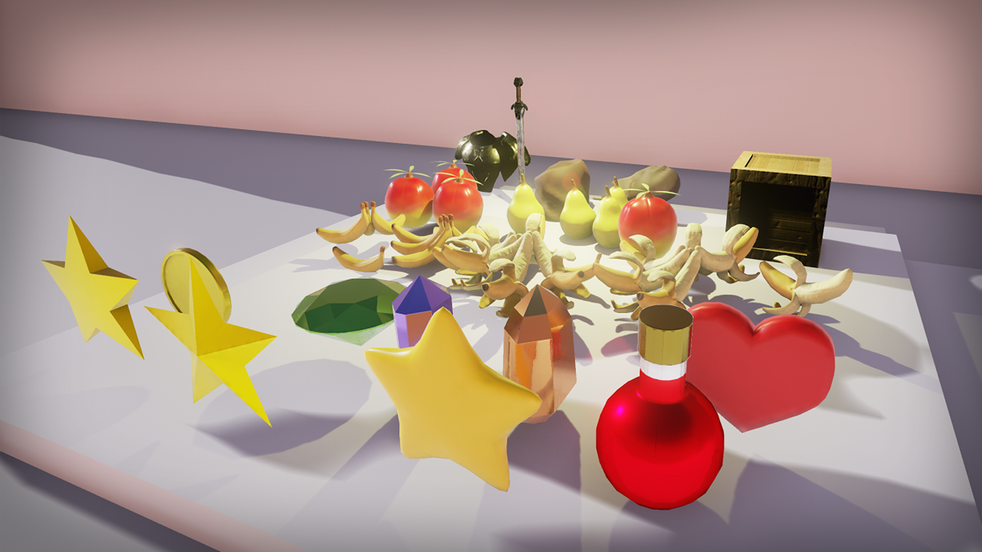 Iconic Pickup Items by Unforgiven