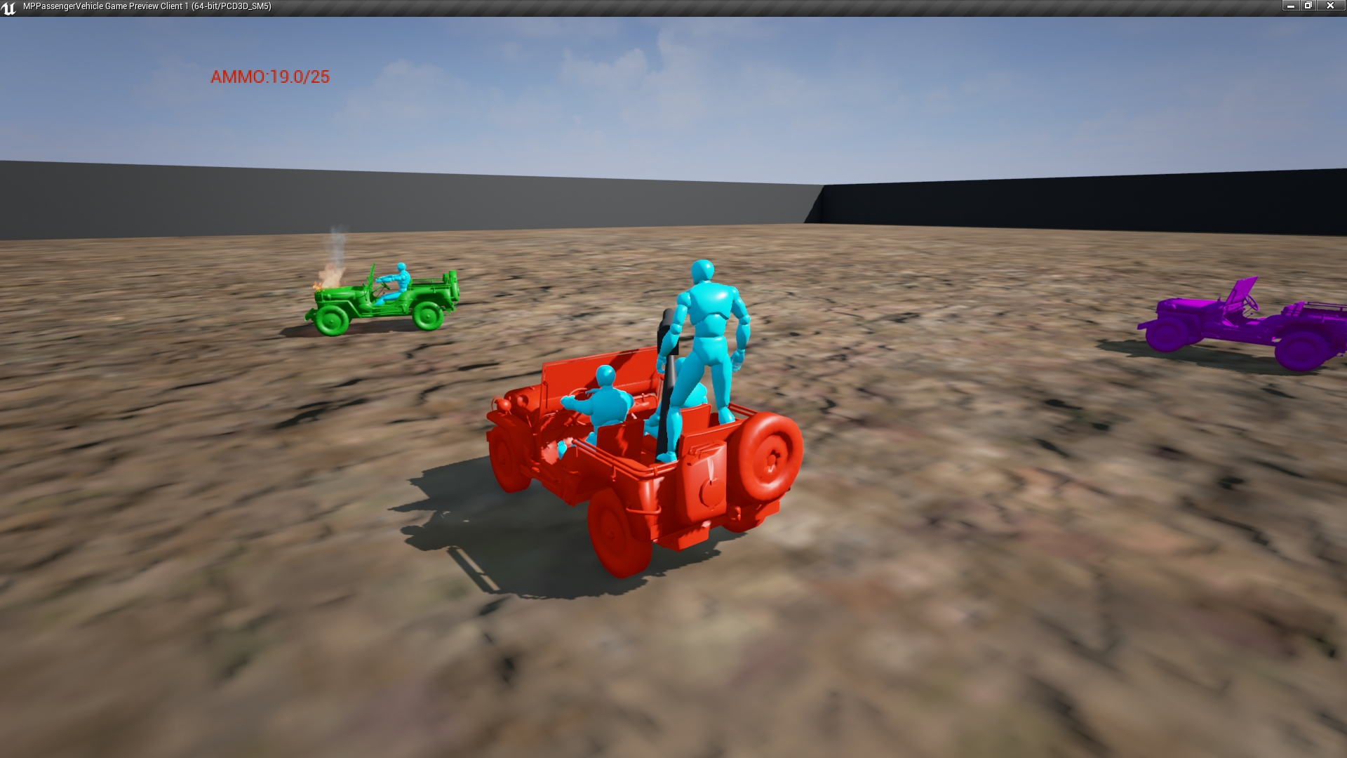 Multiplayer Passenger Vehicle by Kieran