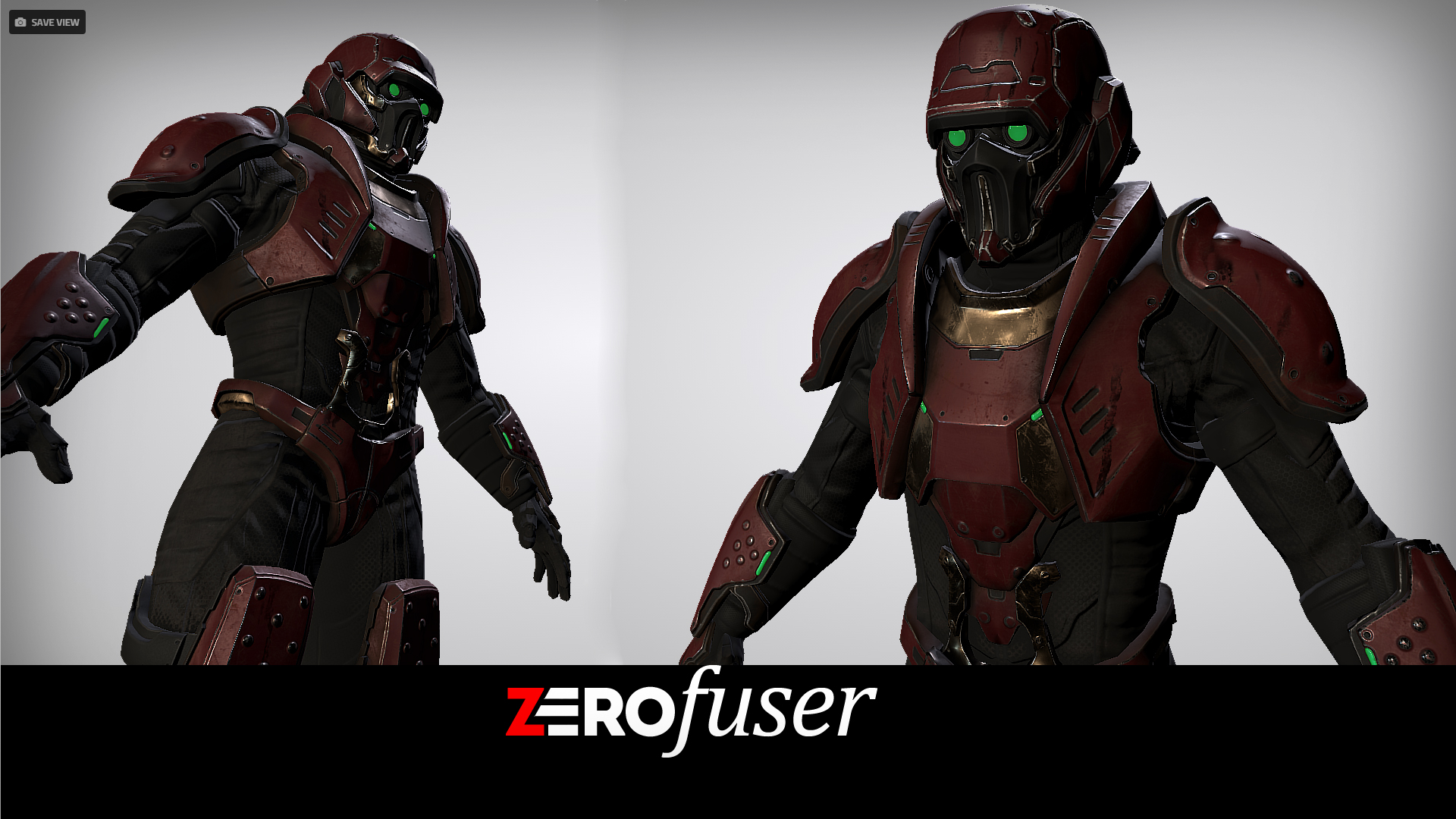 Sci Fi Male Soldier Pack by Art Activated