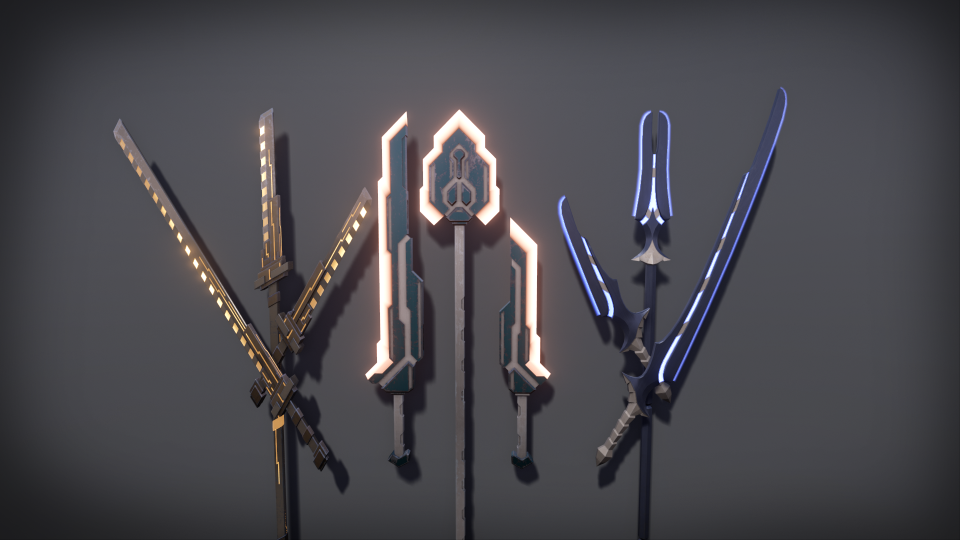 Scifi Melee Weapons by DC Assets