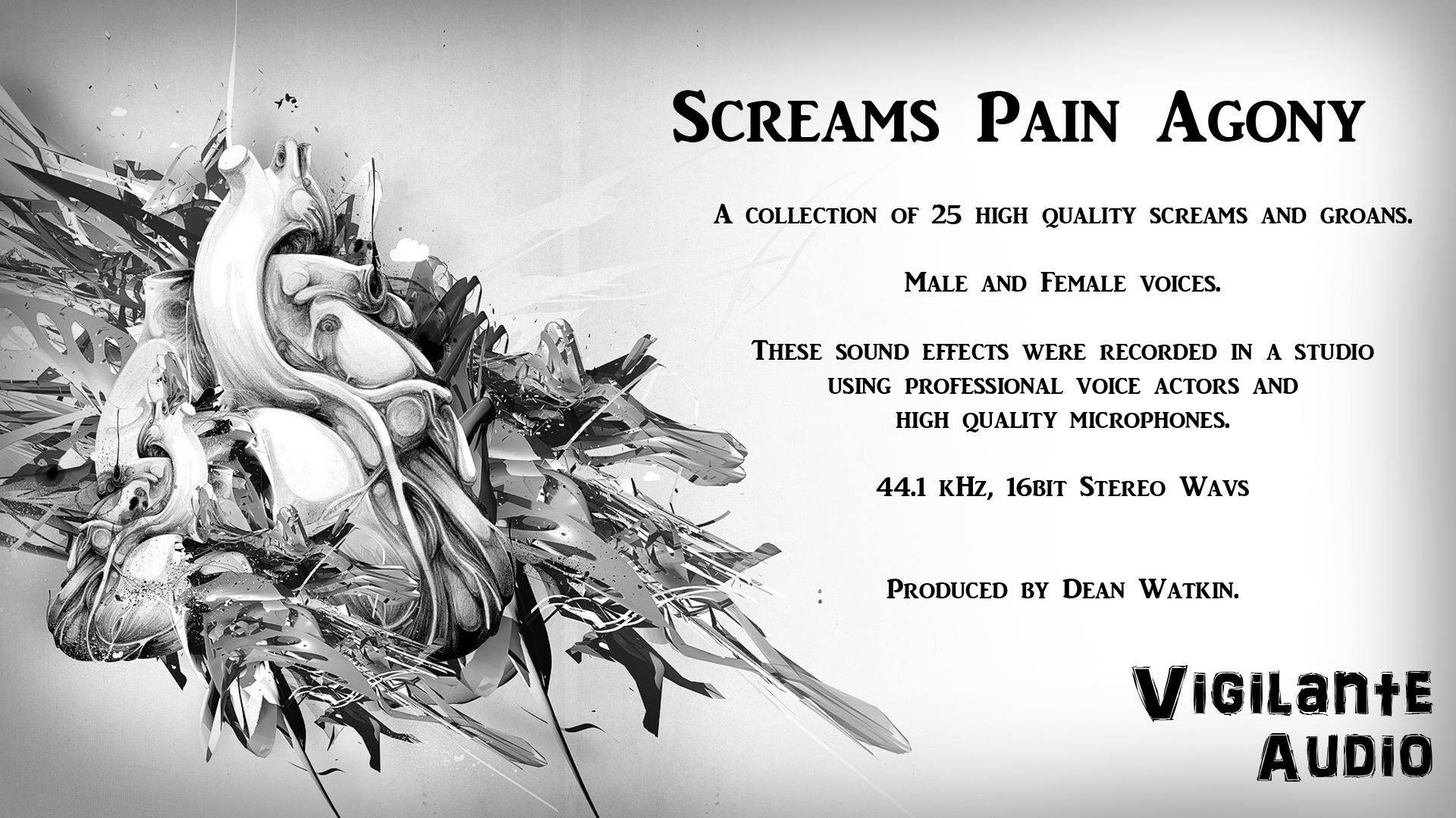 Screams Pain Agony by Vigilante Audio