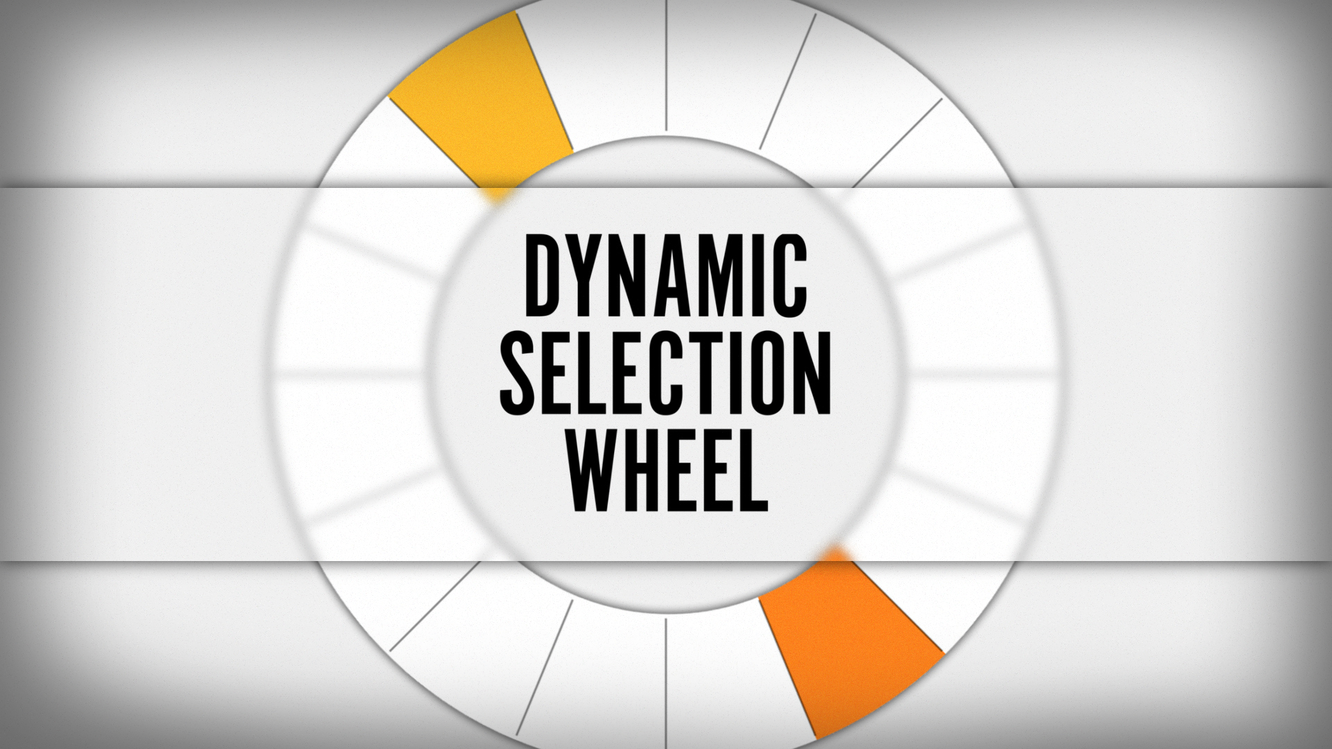Dynamic Selection Wheel by Chase Comerer