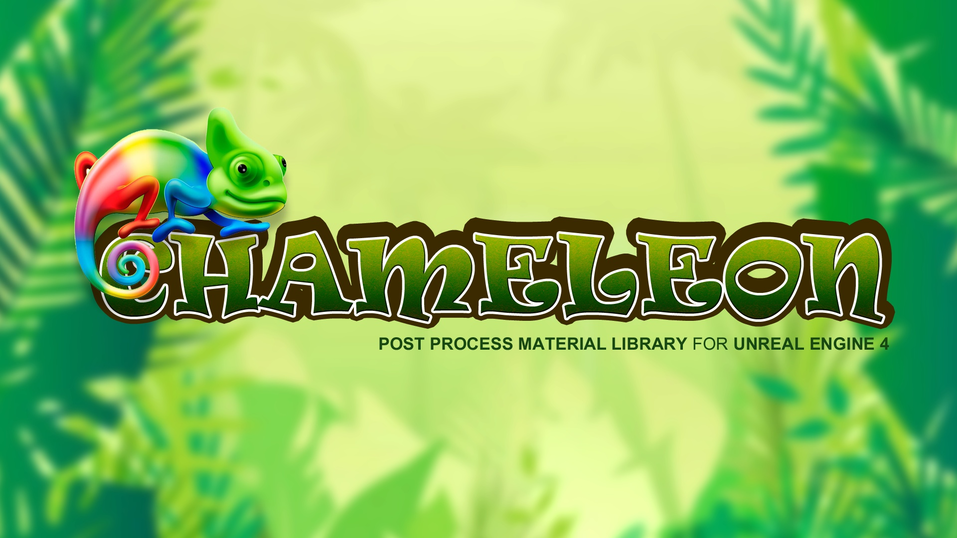 Chameleon Post process Library by Volkan Shin