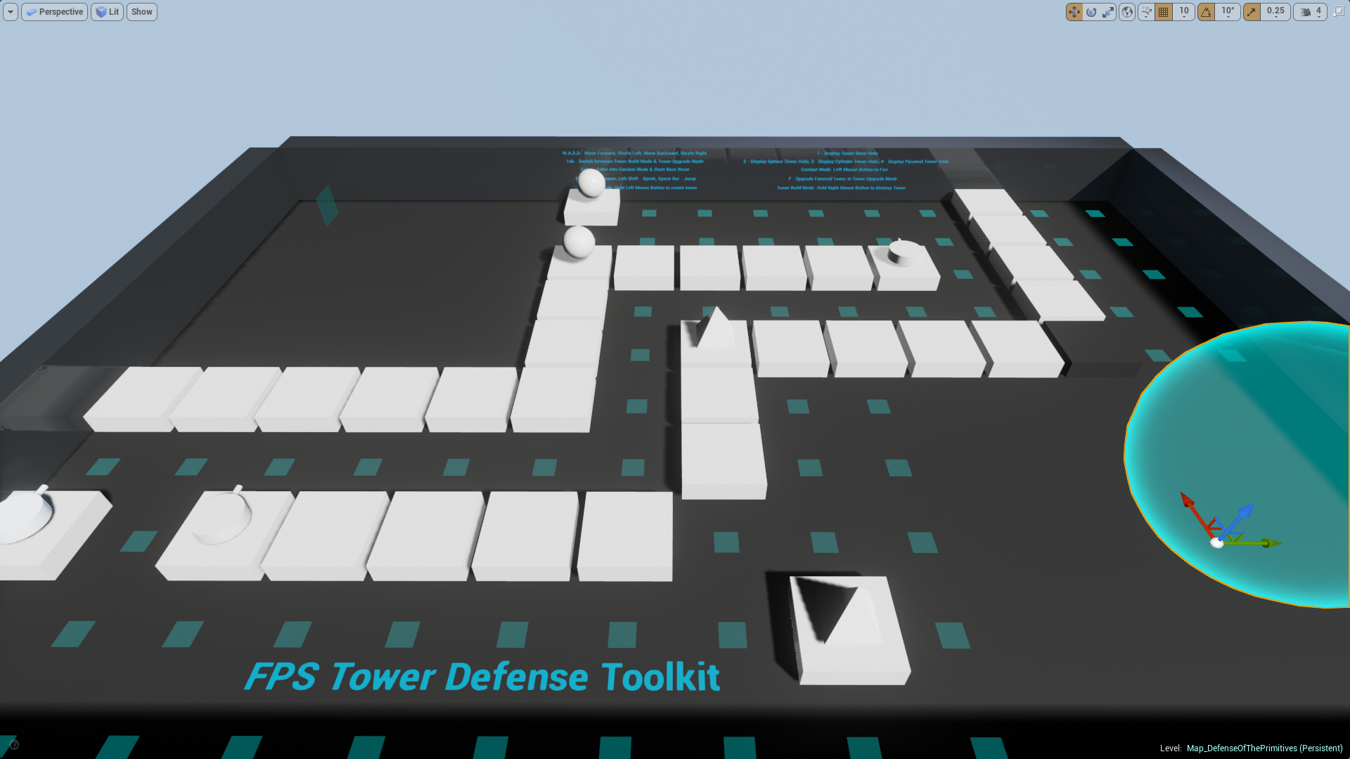 FPS Tower Defense Toolkit by Rohit Mohan