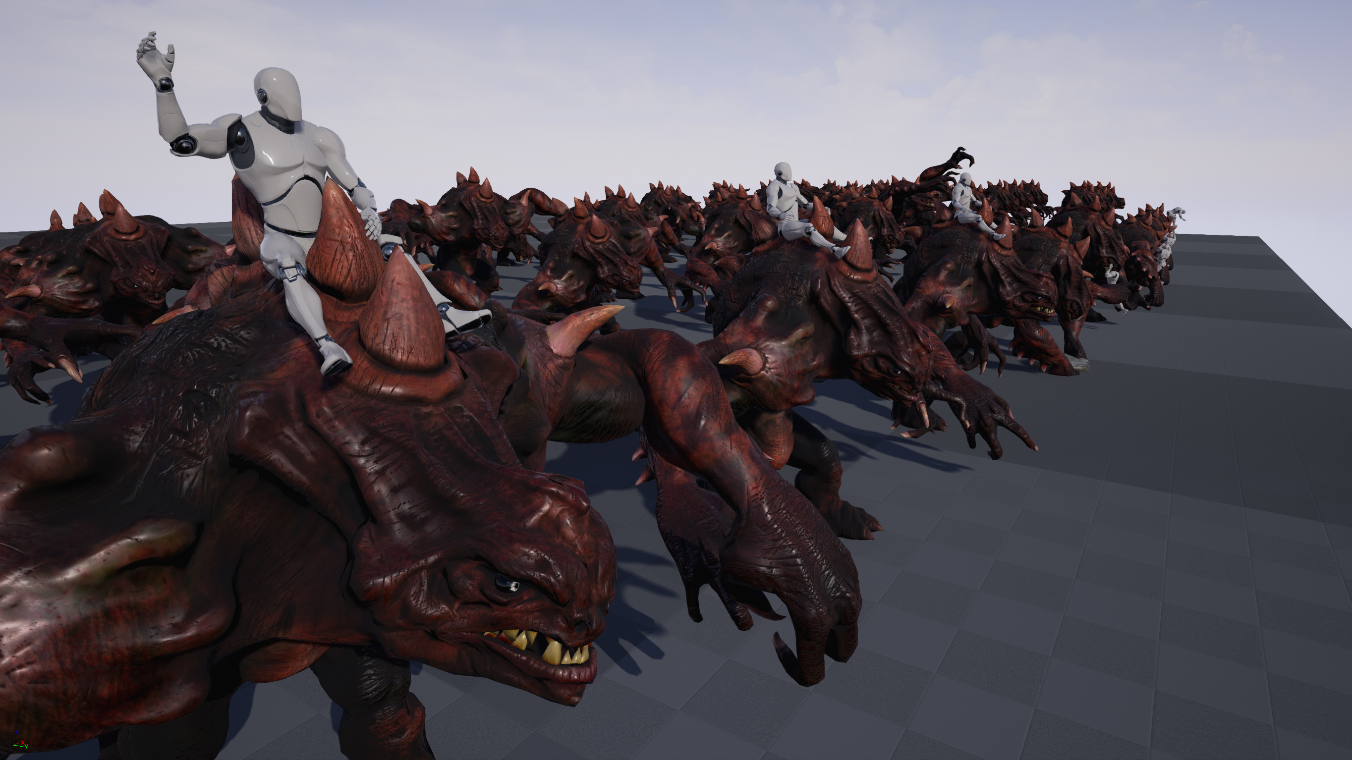 Kaiju Boss Mount by T-Pose