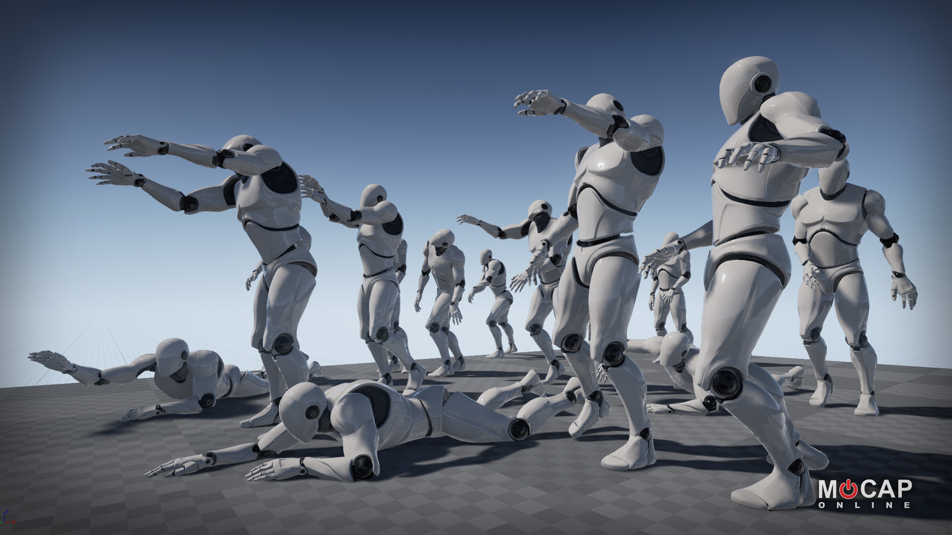 Zombie Motion Capture Animations by Motus Digital LLC
