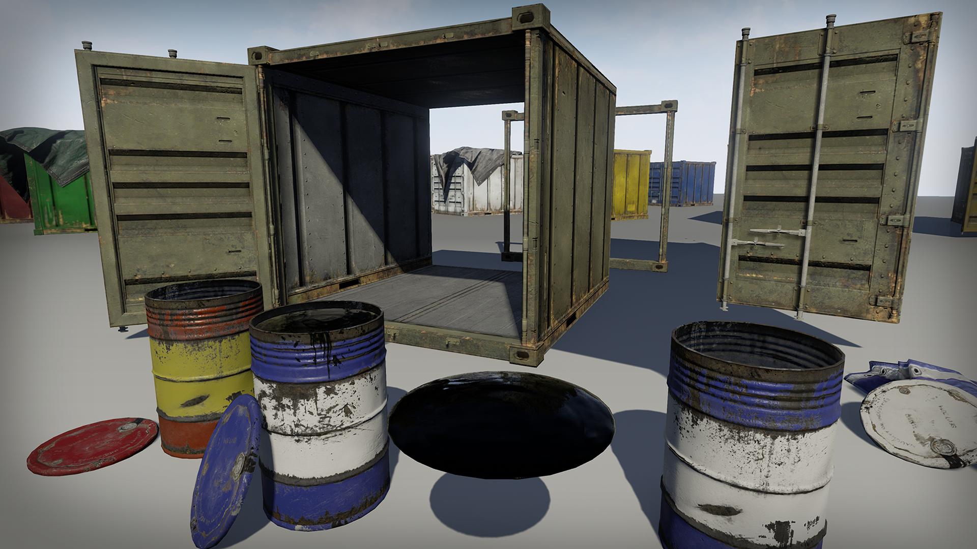 Industrial Prop Set