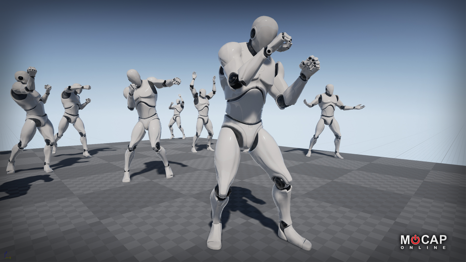 Boxing Motion Capture Animations