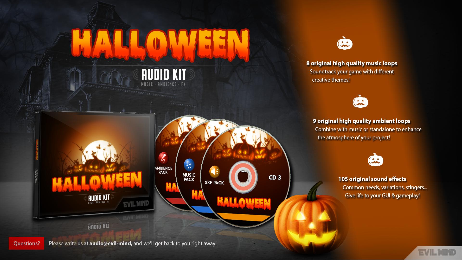 Halloween Audio Kit