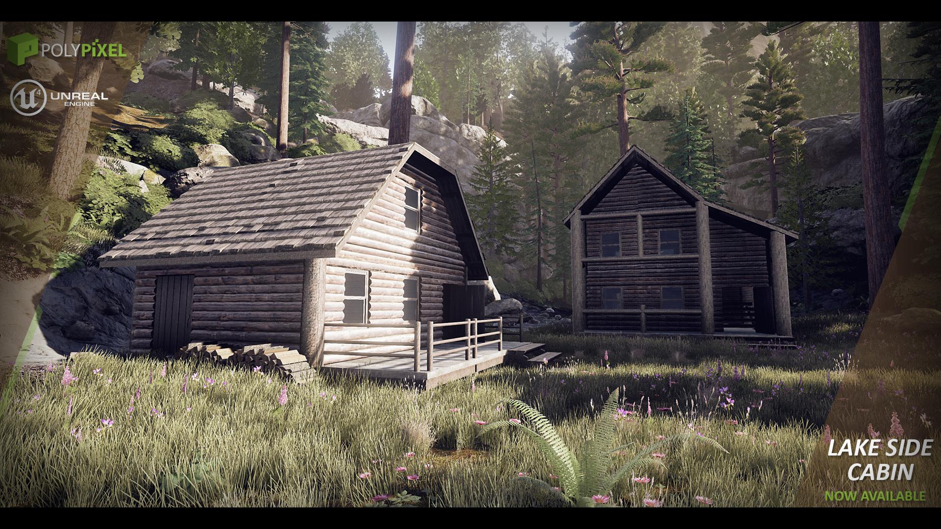 Lake Side Cabin