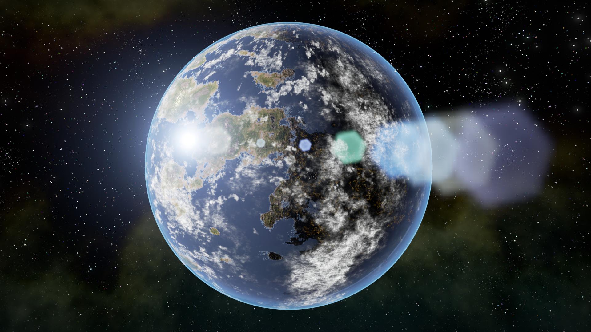 Planetarium Planet Blueprint