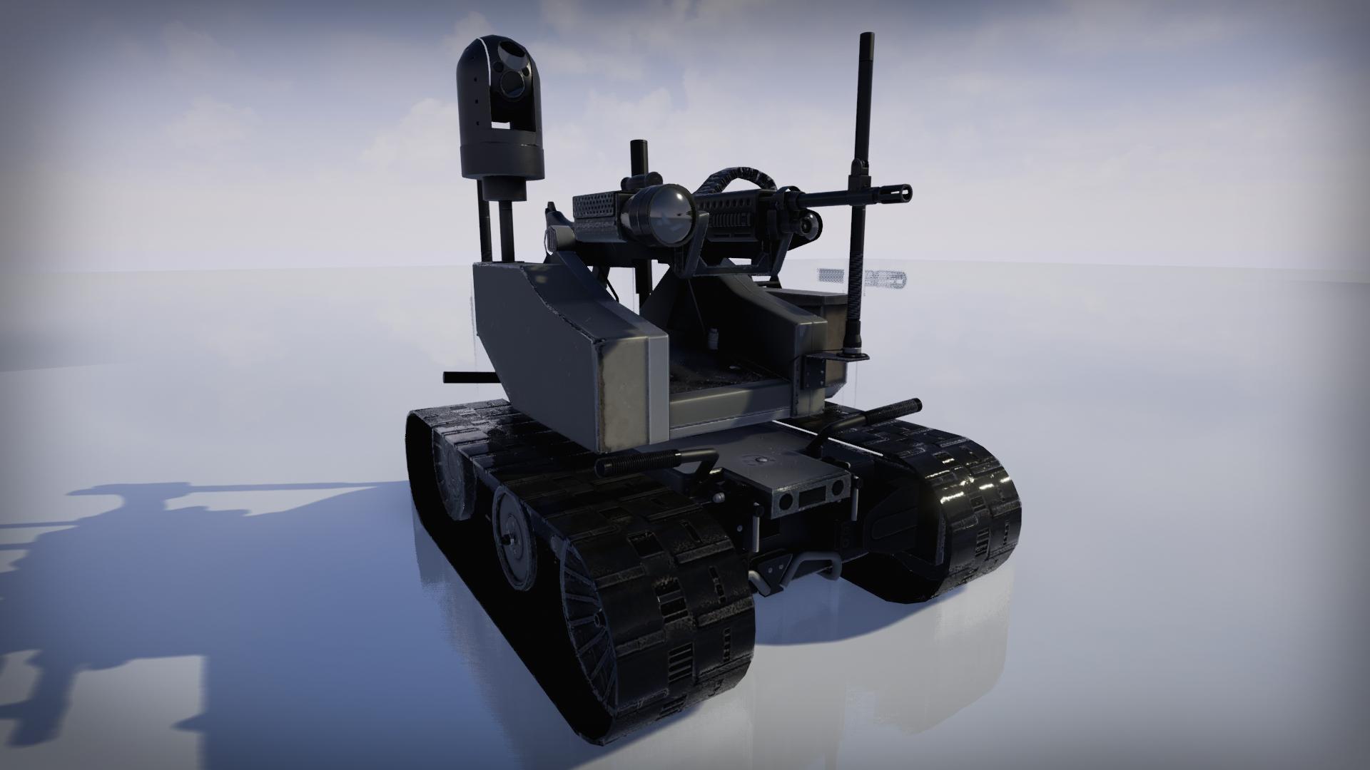 Remote -Controlled Robot MAARS (Andrey Kharitonov)