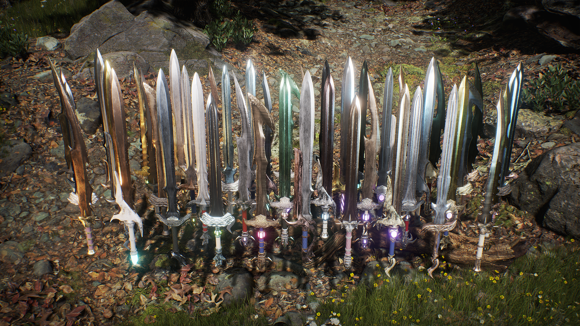 Over 9000 Swords by Broad Strokes