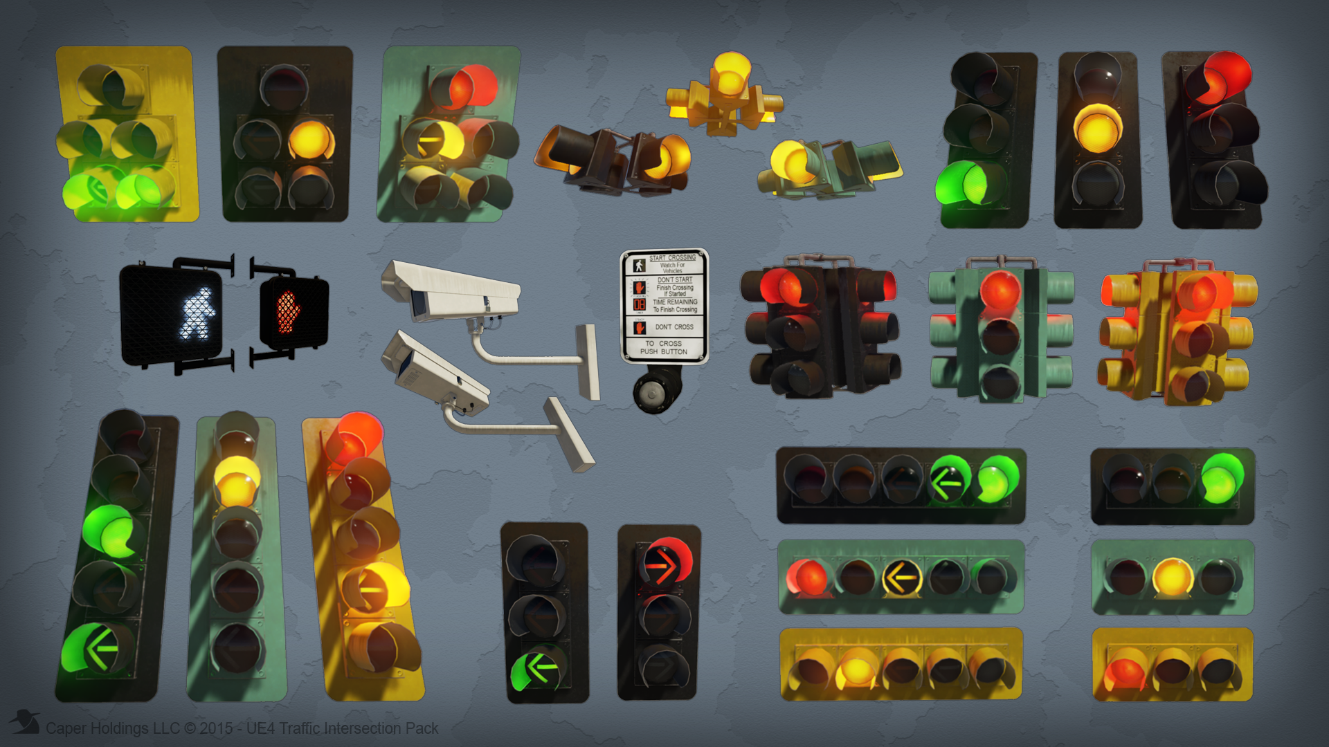 Traffic Intersection Signal by Caper Holdings LLC