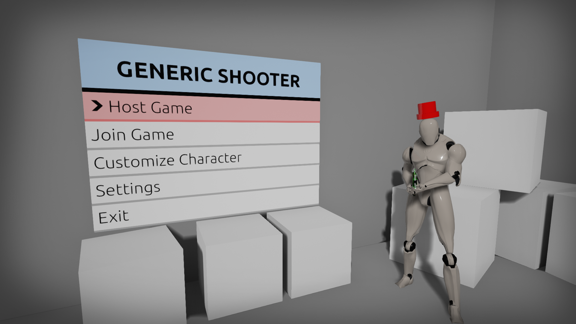 Generic Shooter Sample Project