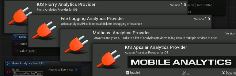 Mobile Analytics Plugins in UE4