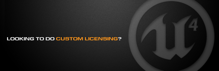 Looking to do custom licensing?
