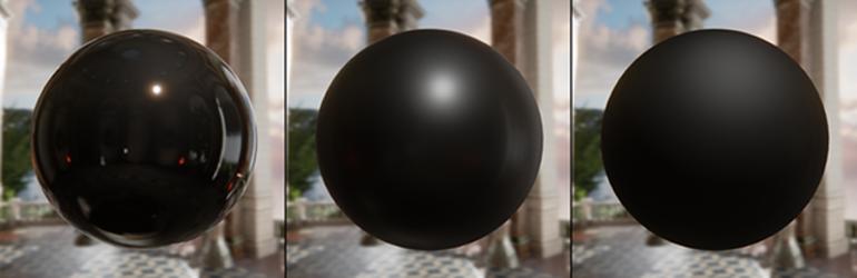 Physically Based Shading Spheres